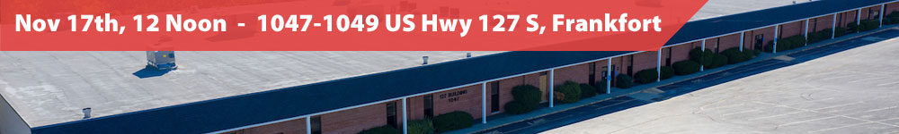 Absolute Auction - November 17th - 1047-1049 US Highway 127 South, Frankfort